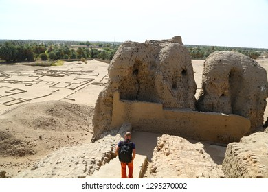 in africa sudan kerma the antique city of the nubians near the nilo and tombs