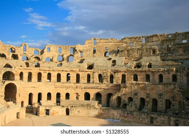 Africa, Tunis, el Djem - The Colosseum