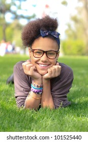 african american black girl child to the park metisse african