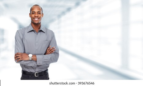 African American businessman.