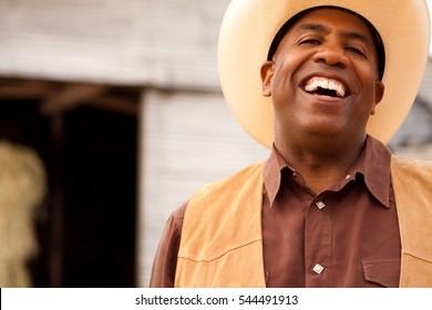 African American Cowboy