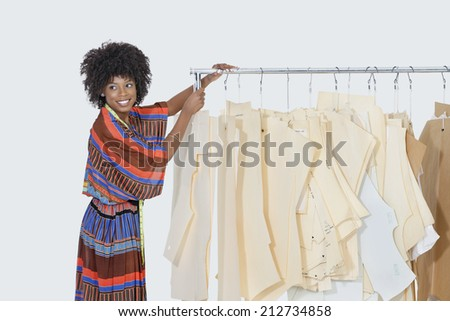 African American Female Designer Sewing Patterns Stock Photo Edit Stunning African Sewing Patterns