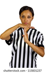African American Female Referee