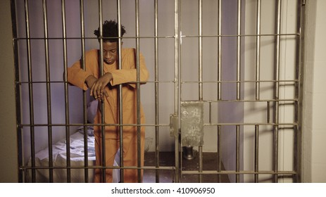 African American Man in Prison