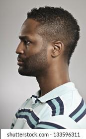 African American Man Profile