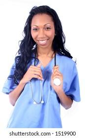 African American Medical Worker - Nurse - Doctor