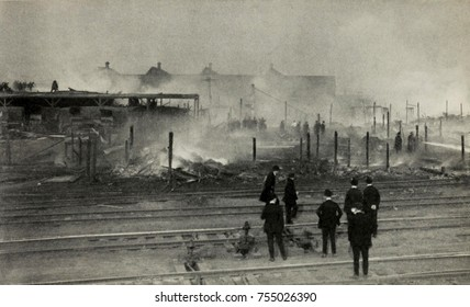 African American neighborhood destroyed by fire during 1919 Chicago Race Riot. It was located on Chicago's South Side, near the stockyards and meatpacking plants where African Americans and new Europe