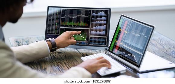 African American Trading Stock Market Exchange Online
