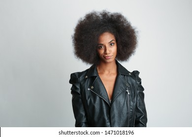 African american Woman making a disbelief face