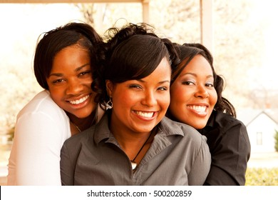 African American Women. Friendship. Best Friends.