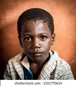 African boy portrait