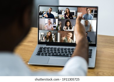 African Business Video Conference Business Webinar Meeting