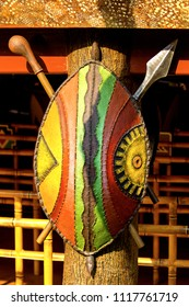 African colorful art