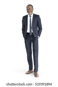 African Descent Businessman Portrait Concept