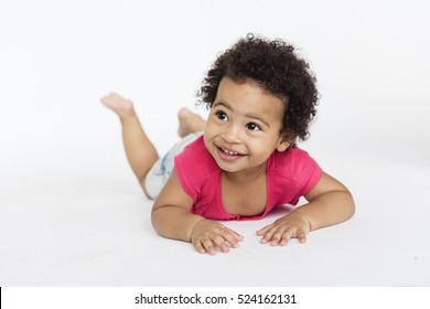African Descent Child Cute Expression Ethnicity Concept