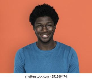 African Descent Man Smiling Concept