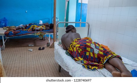 African hospital in Ivory Coast