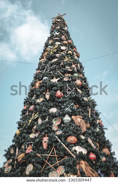 African Jungle Wildlife Christmas Tree Ornaments Stock Photo Edit Now 1303309447