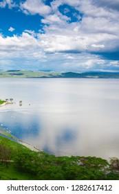 African landscape at Lake Nakuru, Kenya