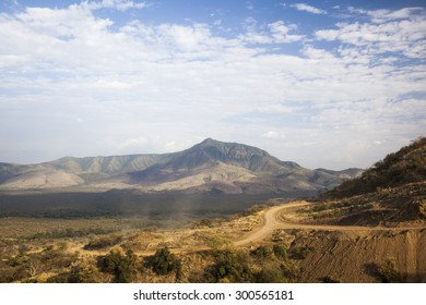 African landscape. Mago National Park. Omo Valley. Ethiopia.