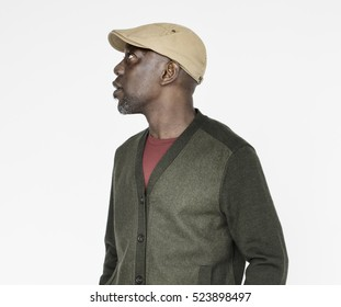 African Man Casual Portrait Photography Concept