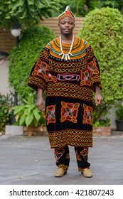 African man in traditional dress