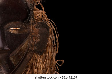 African mask named Gagon from Dan tribe Liberia