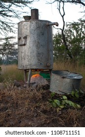 African Metal Camping Cook Oven
