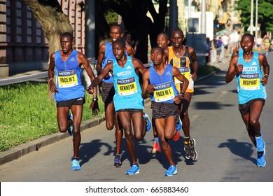 African runners during Mattoni 1/2Maraton Olomouc - 24.6.2017 - Czech Republic