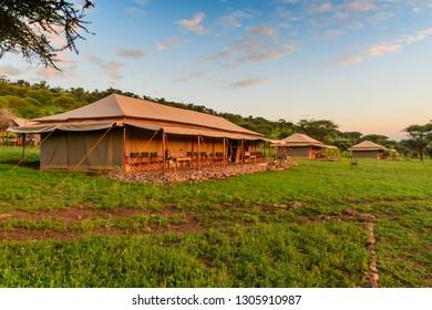 African Safari tented camp