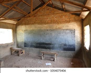 African school classroom in Homabay (Kenya)