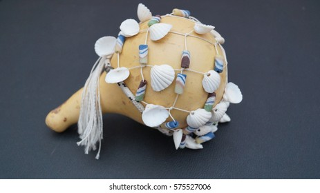 African Shell Gourd Rattle
