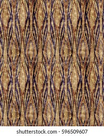 African style Art Deco reddish pattern