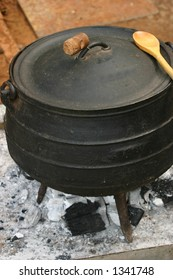 African traditional cooking