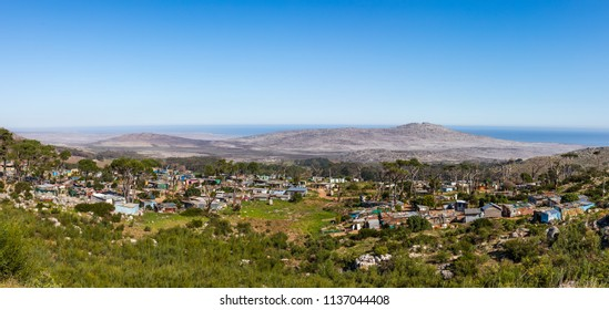 An african village on the cape peninsula near capetown