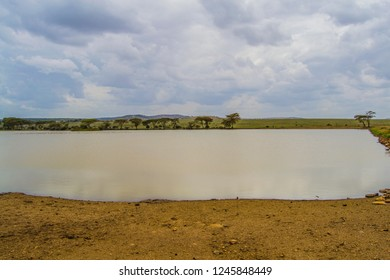 An African wilderness dam