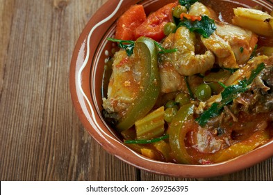 Afritada Manok - Philippines' Spanish homestyle dish