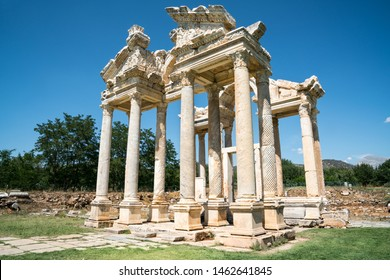 Afrodisias Ancient city.  (Aphrodisias). The common name of many ancient cities dedicated to the goddess Aphrodite. The most famous of cities called Aphrodisias. Karacasu - Aydın, TURKEY