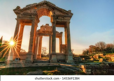Afrodisias Ancient city. (Aphrodisias) Karacasu - Aydin, TURKEY