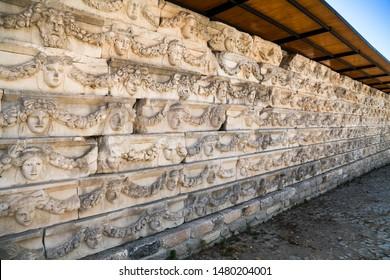 Afrodisias Ancient city.  (Aphrodisias) was named after Aphrodite, the Greek goddess of love. Aphrodite The most famous of cities called Aphrodisias. The UNESCO World Heritage. Aydın - TURKEY