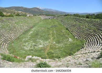 Afrodisias ancient city hippodrome, Turkey