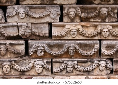 Afrodisias - detail, Turkey