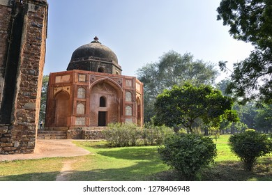 Afsarwala Tomb, in the complex of Humayun's tomb, New Delhi, India.