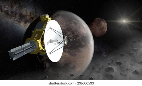After passing by Pluto, New Horizons will continue farther into the Kuiper belt for encounter with one more additional Kuiper belt objects of the order of 50-100 km (31-62 mi) in diameter.