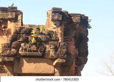 After the restoration of the castle rock in the northeast of Thailand, Prasat Sra Kamphaeng Yai, Si Sa Ket