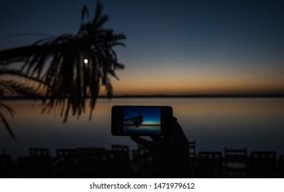 after sunset at siwa osis