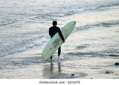 After work surfing