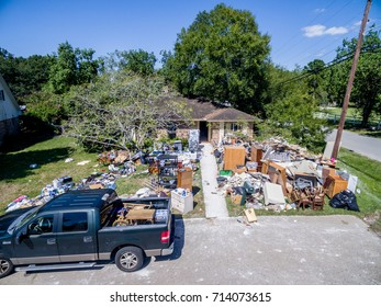 The aftermath of Hurricane Harvey