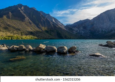 Afternoon at Convict Lake near Mammoth Lakes