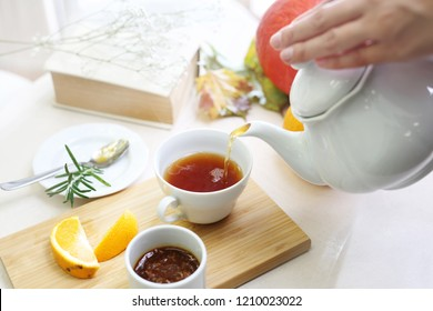 Afternoon tea. Relax with tea